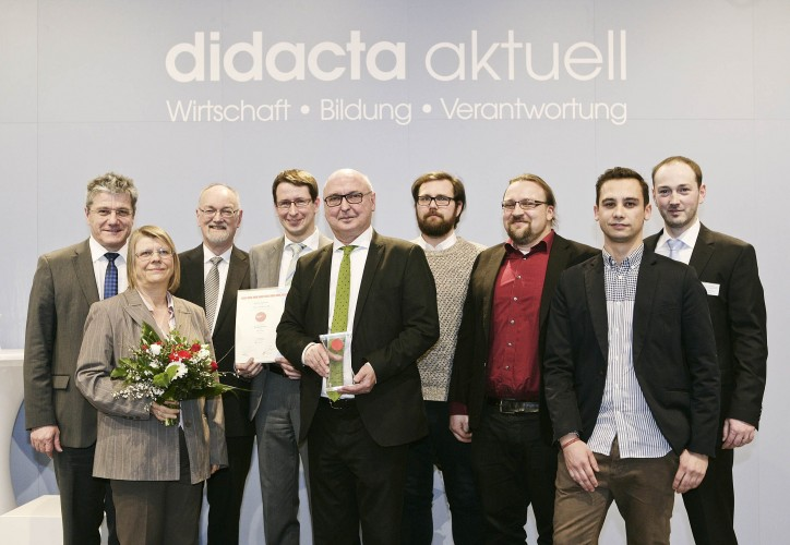 Preisverleihung des Bildungspreis digita 2015 an die Meramo Verlag GmbH