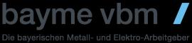 Logo bayme vbm, Die bayrische Metall- und Elektro-Arbeitgeber