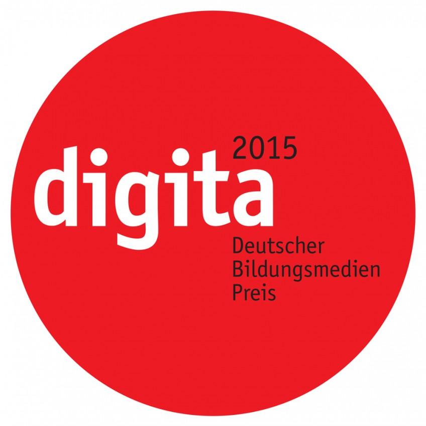 Logo digita 2015 Deutscher Bildungsmedien Preis