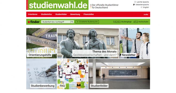 Studienwahl.de Startseite