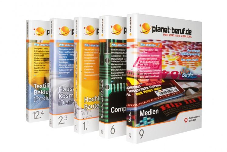 Infomappen planet-beruf.de