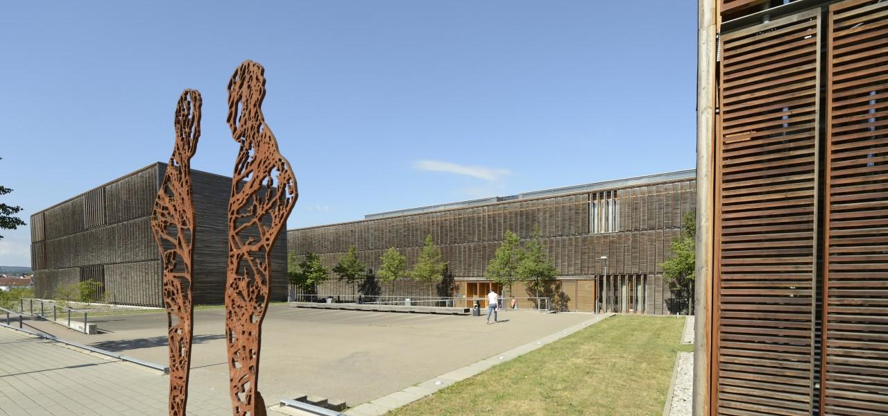 Campus der Hochschule Aalen.