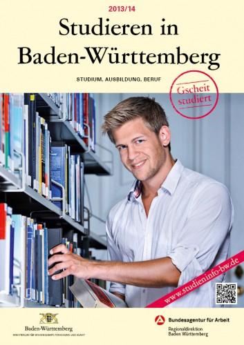 Titelseite Studieren in Baden-Württemberg 2013