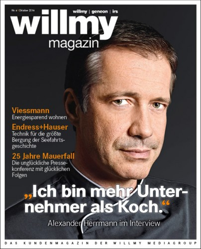 willmy magazin Titel