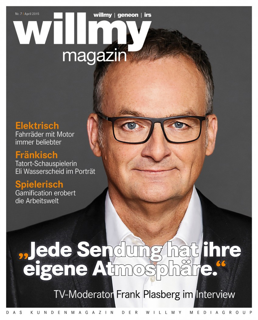 Titel Willmy Magazin Nr. 7, 2015