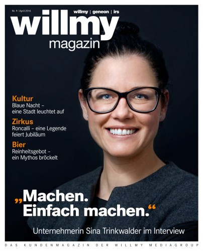 Titel Willmy Magazin Nr. 9, April 2016