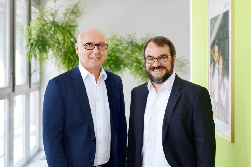 Die Geschäftsführer Rainer Möller und Andreas Bund.
