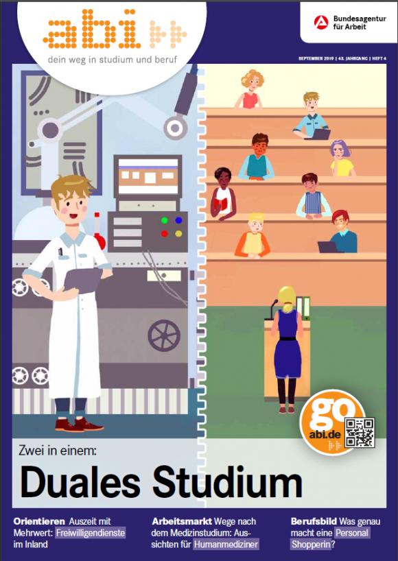 Titelbild abi Magazin Duales Studium