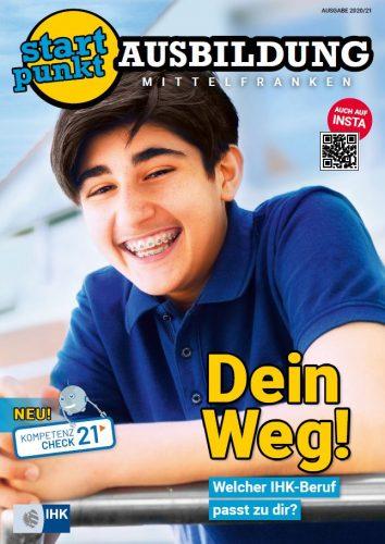 Cover IHK STARTPUNKT AUSBILDUNG 2020/2021